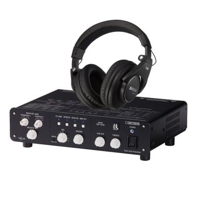 Boss WAZA Tube Amp Expander, SRH840 Headphones Bundle