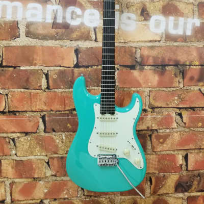 Schecter Nick Johnston Traditional Signature Electric Guitar Atomic Green for sale