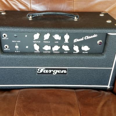 Fargen Dual Classic 2007 Tuxedo Black With White Piping
