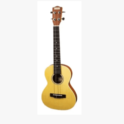 Makai MT-70TR Solid Top Series Tenor Travel Body Style Ukulele with White Binding for sale