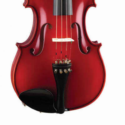 Becker 175 Prelude Series 1/2 Size Violin - Red-Brown Satin