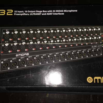 Midas DL32  Black
