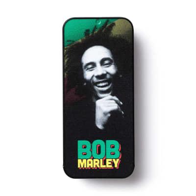 Dunlop BOBPT07M Bob Marley Quote Series Medium Guitar Pick Tin (6-Pack)