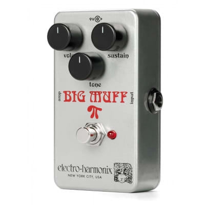EHX Electro Harmonix Ram's Head Big Muff Pi Distortion Guitar Effects Fuzz Pedal