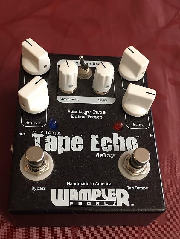 wampler faux tape echo esteban 39 s gear emporium reverb. Black Bedroom Furniture Sets. Home Design Ideas