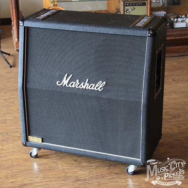 1995 marshall jcm 900 lead 1960a 4x12 slant cabinet reverb. Black Bedroom Furniture Sets. Home Design Ideas