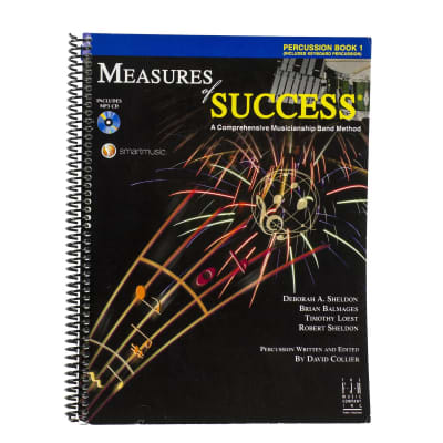 Measures Of Success - Percussion Book 1