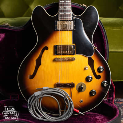 Video: Gibson ES-345 1976 Sunburst w/Switchcraft Stereo cable 48 hour approval