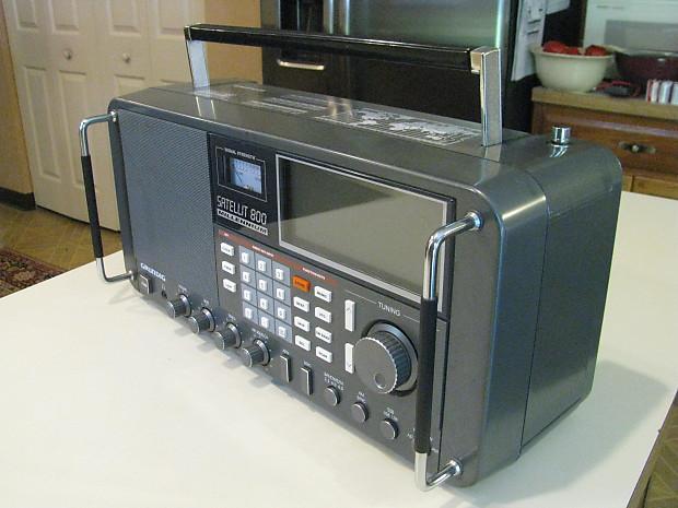 Grundig Satellit 800 Millennium AM/FM Stereo VHF Aircraft Band Shortwave  Radio