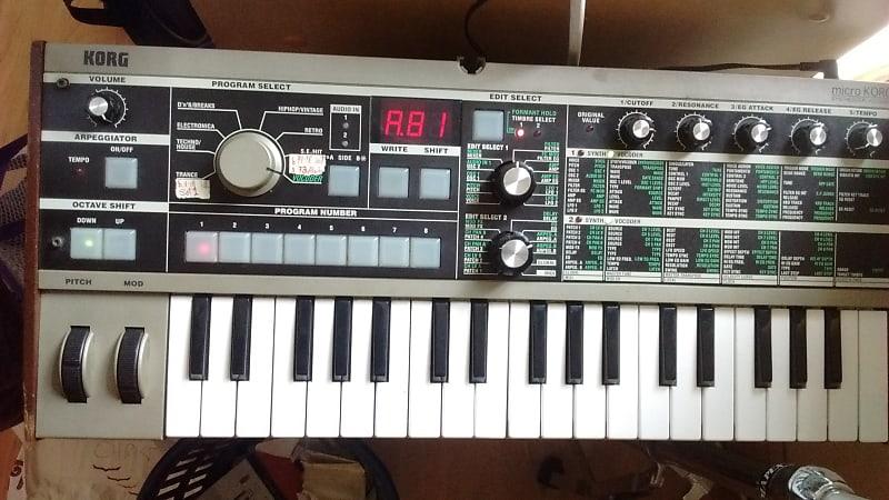 Korg microKORG 37-Key Synthesizer/Vocoder | Reverb