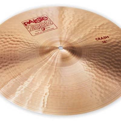 "Paiste 18"" 2002 Crash Cymbal - 697643100060"