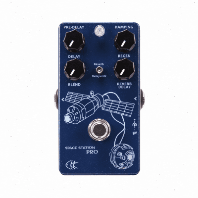 CKK Space Station Pro Delay & Reverb and Space Reverb All in one Pedal