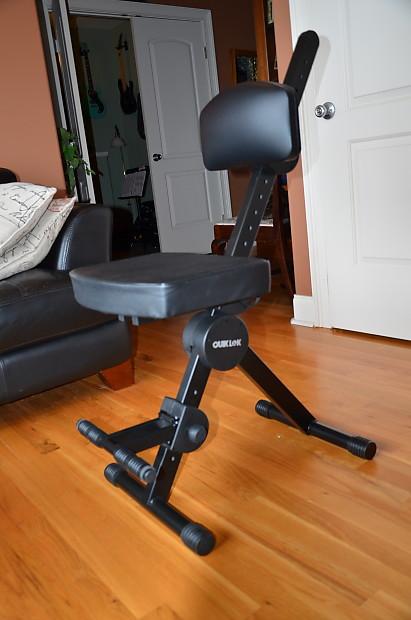 Quik Lok Dx749 Deluxe Musician S Adjustable Seat Like