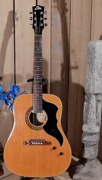vintage 1965 eko j 54 1 jumbo acoustic electric guitar reverb. Black Bedroom Furniture Sets. Home Design Ideas