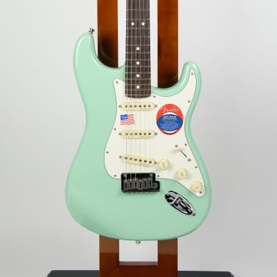 Fender Jeff Beck Stratocaster Surf Green - Jeff Beck Stratocaster for sale