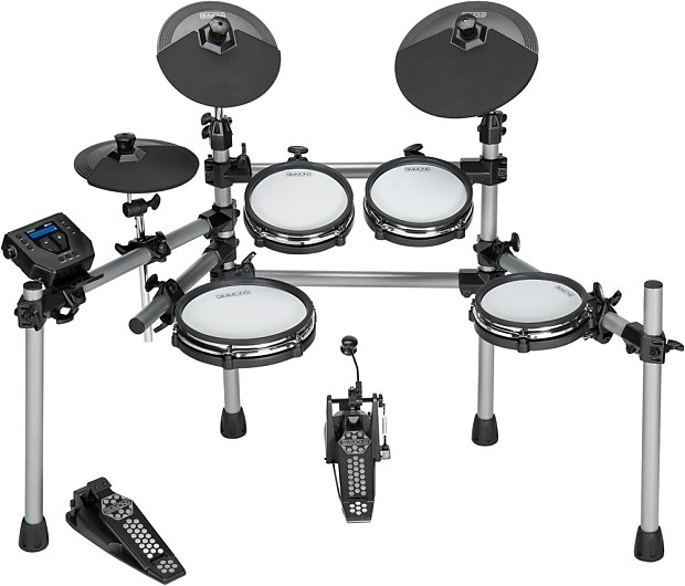 simmons sd550 electronic drum set with mesh pads music123 reverb. Black Bedroom Furniture Sets. Home Design Ideas