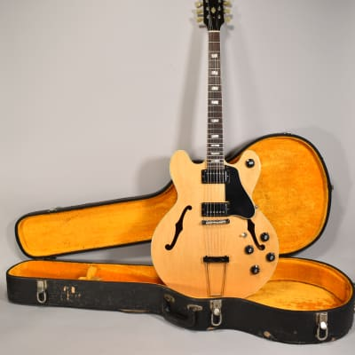 1969 Gibson ES-150 DN Rare Natural Finish Original Vintage Electric Guitar OHSC for sale