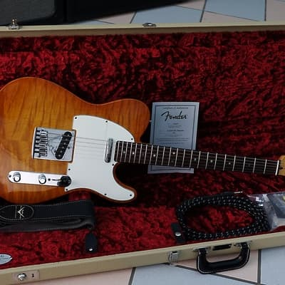 Fender Telecaster deluxe custom shop 2012 body aaa faded honey for sale