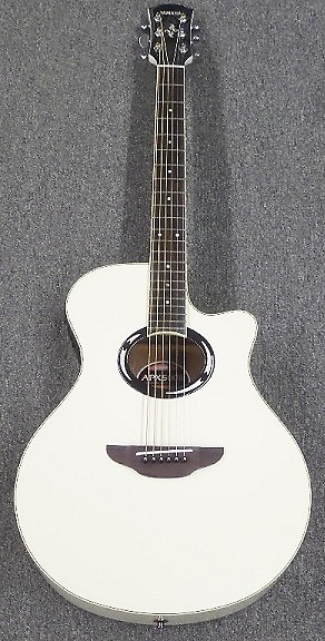 yamaha apx500ii apx series acoustic guitar white reverb. Black Bedroom Furniture Sets. Home Design Ideas