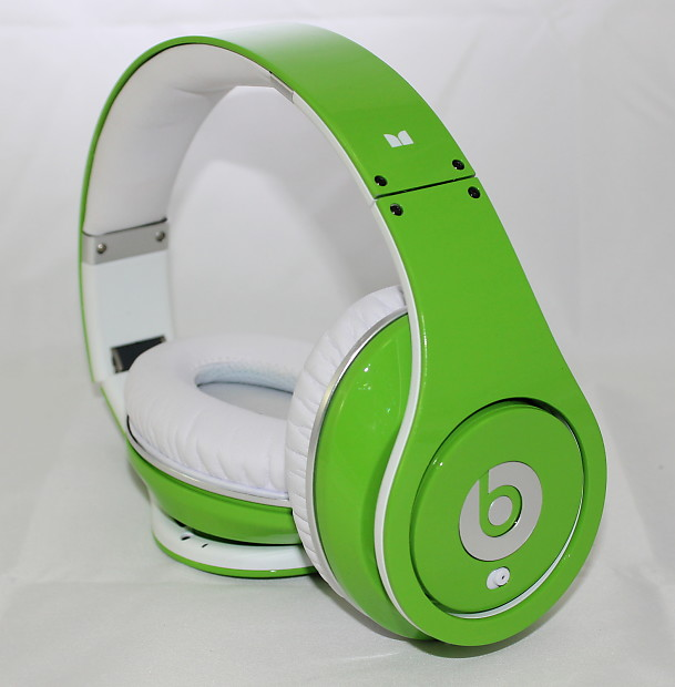 Beats By Dre Beats Studio Over Ear Headphone Neon Green Reverb