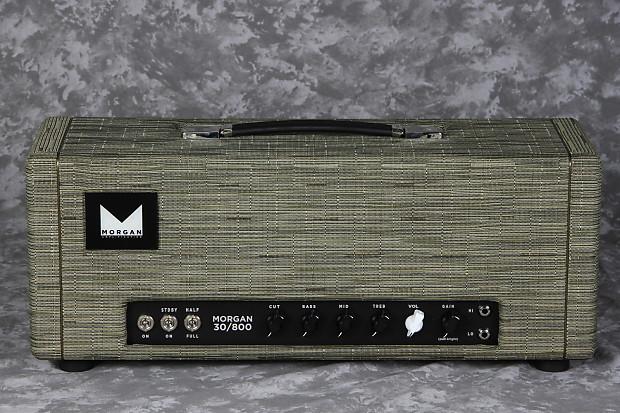 Morgan 30/800 - Head Charcoal Chilewich | Eddie's Guitars