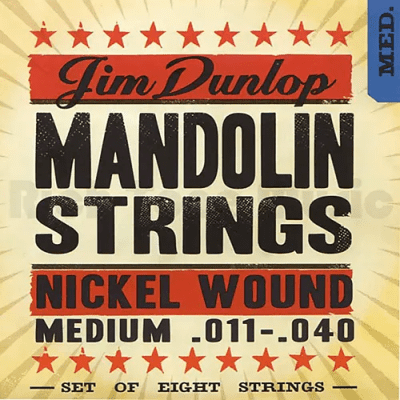 Dunlop DMN40 Nickel Plated Steel Mandolin String - 0.04