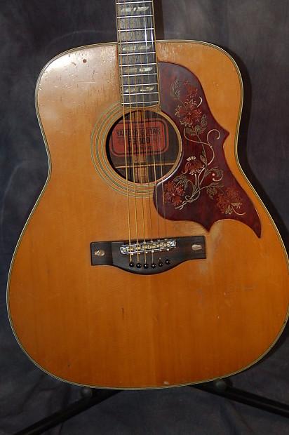 yamaha fg 300 jumbo acoustic guitar original case 1971 reverb. Black Bedroom Furniture Sets. Home Design Ideas