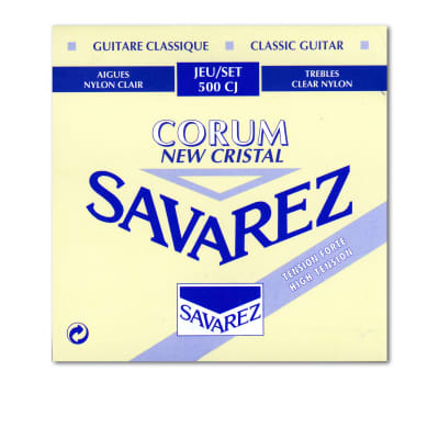Savarez High Tension Cristal Trebles Corum Basses