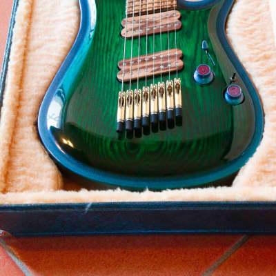 GB Liuteria, modello Ergal, 8-string Fanned, Made In Italy. for sale