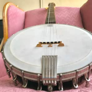 Orpheum #3  Five String Banjo Mahogany Circa 1925 for sale