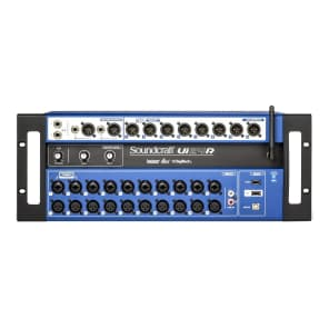 Soundcraft Ui24R 24-Channel Digital Mixer/USB Recorder w/ Wireless Control