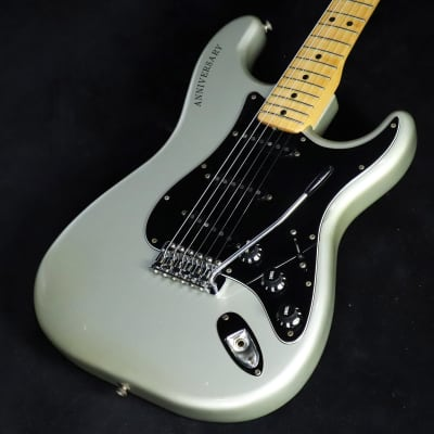 Fender USA 25th Anniversary Stratocaster Silver/0830 for sale