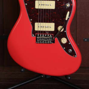 Revelation RJT-60 Offset Solidbody Electric Guitar Fiesta Red for sale