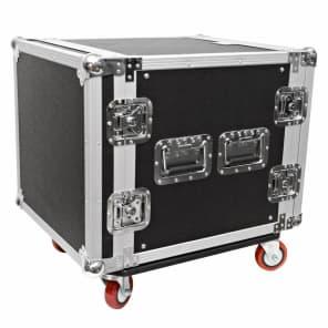 Seismic Audio SAR10.2 10U Rack Case w/ Casters