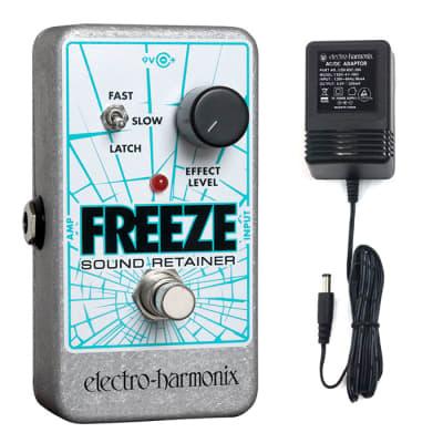 Electro Harmonix Electro-Harmonix Freeze Sound Retainer Pedal w/Power Supply
