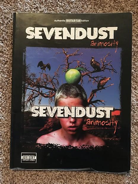 Sevendust - Animosity - Guitar tab / tablature Book