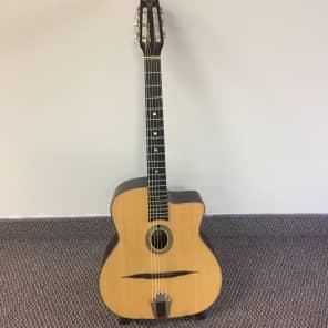 Paris Swing GG-39 Gypsy Jazz Model 39 Acoustic Guitar Natural