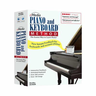 eMedia Piano and Keyboard Method - Win/Mac CD-ROM