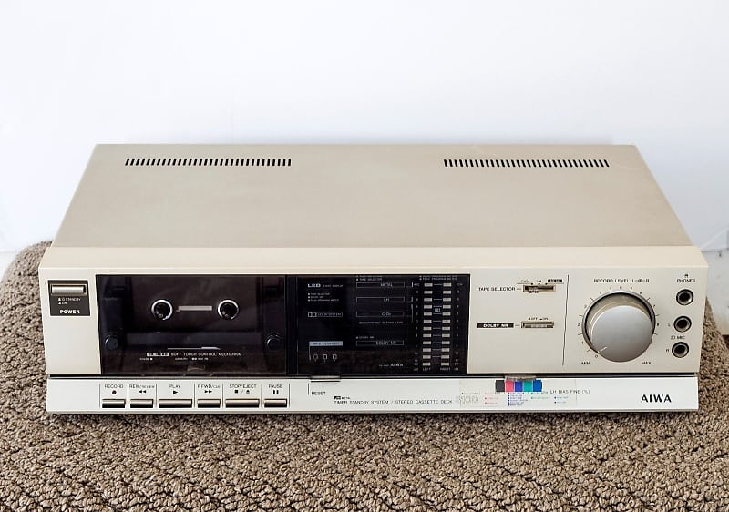 Vintage Aiwa AD-3100U Stereo Cassette Deck- Parts Repair