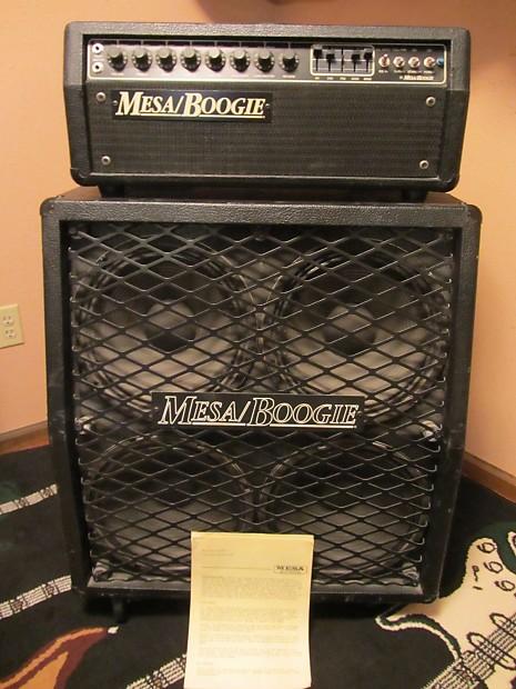 Mesa Boogie Mark III Head Blue Stripe Amp Amplifier & | Reverb