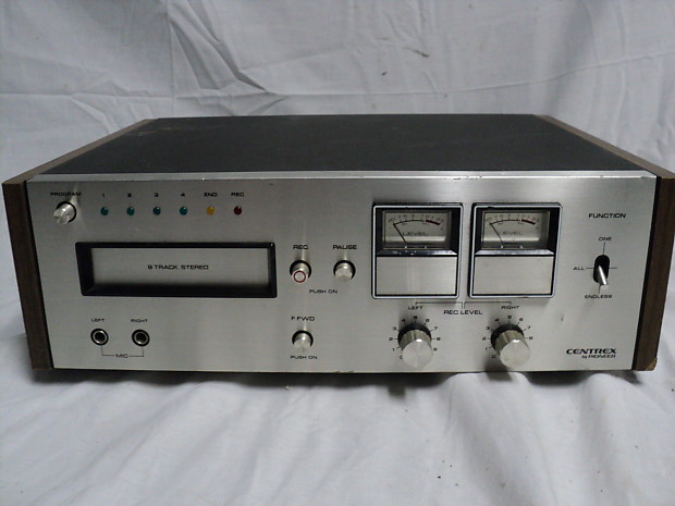 Vintage Pioneer Centrex RH-60 8-Track Stereo Player For Repair