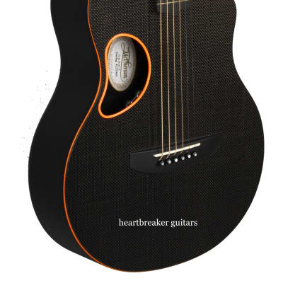 Mcpherson Carbon Fiber Touring Guitar Orange Trim for sale
