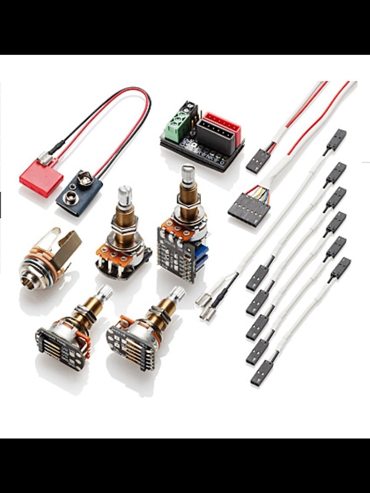 ... EMG- Solderless wiring kit- 1 or 2 pickups, Long shaft, ...