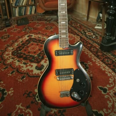 Musima Deluxe 25K GDR Rare Vintage Electric Guitar USSR DDR Les Paul