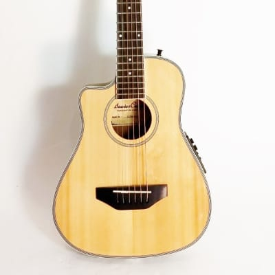Beaver Creek Traveller guitar natural left handed for sale