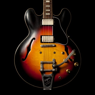Gibson ES-335 Anchor Stud Bigsby VOS Antique Vintage Sunburst Limited Run 2018 for sale