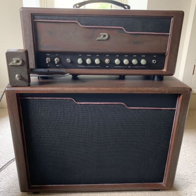 Duesenberg Berlin 45-Watt Guitar Amp Half Stack with 1x12