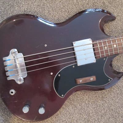 Avon SG bass 1960's maroon for sale