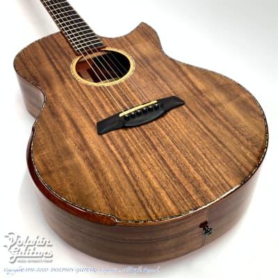 Maestro Guitars Original Series Raffles KO CSB K (All Pacific Koa) -Free Shipping! for sale