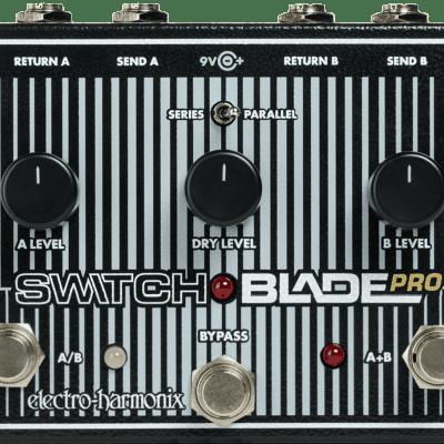 New EHX Electro-Harmonix Switchblade Pro Deluxe Switcher Pedal! Switch Blade